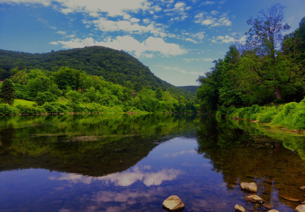 River in West Cornwall, where Junk Bear offers Litchfield County junk removal