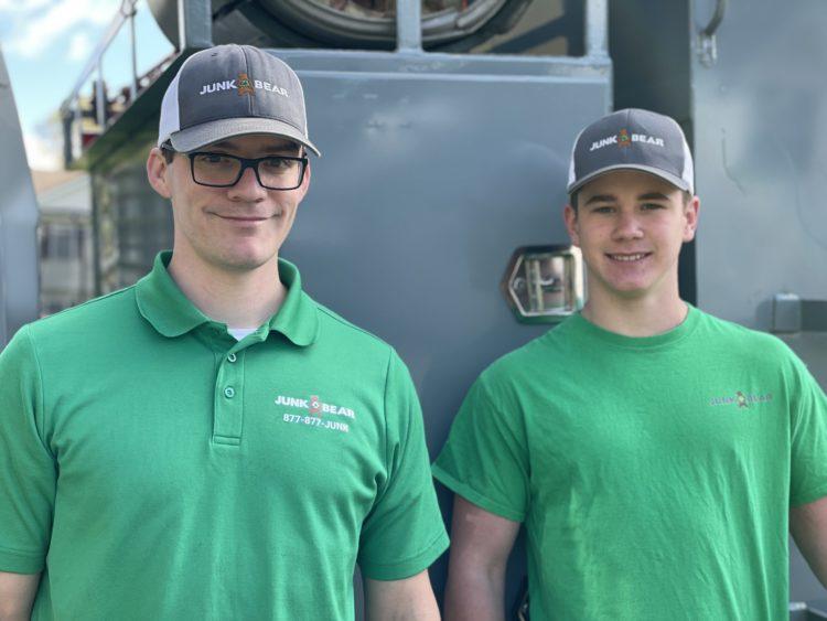 Junk removal team members